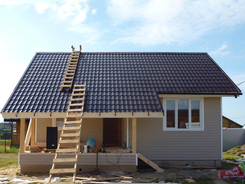Фотоотчет строительства одноэтажного дома своими руками